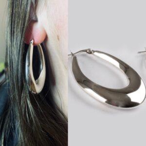 Silver Loop Earrings